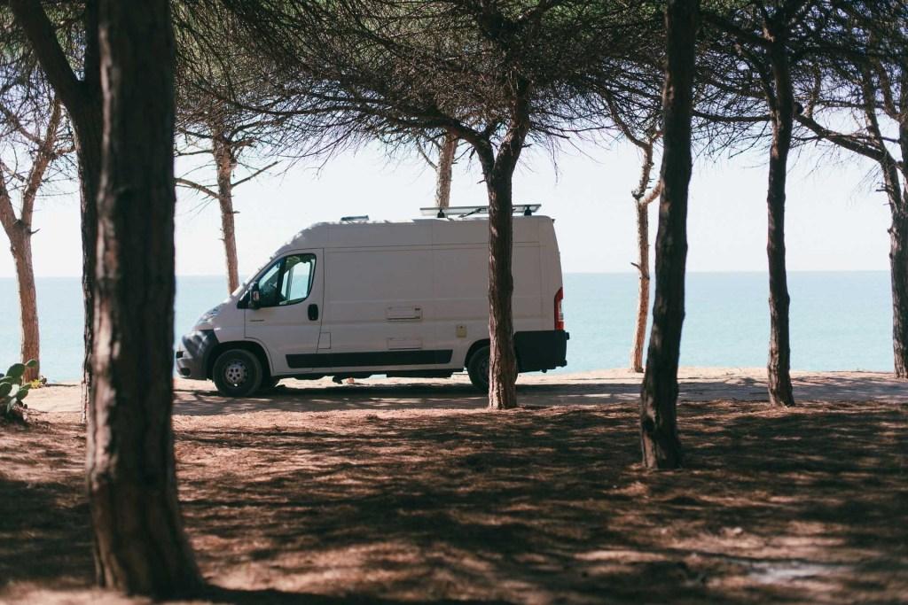 Campervan Forest Portugal