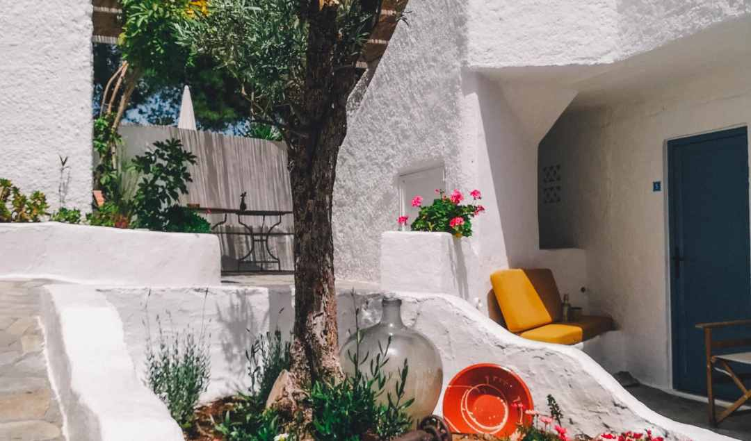 Greek Island Yoga Retreat Accommodation
