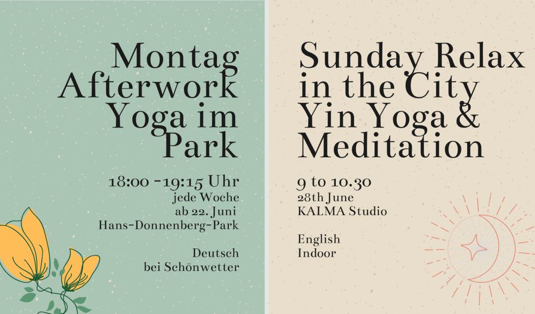 yoga salzburg yin yoga im park sommer