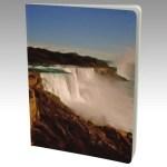 Large Journal with art Majestic Niagara Falls by Malinee Ganahl