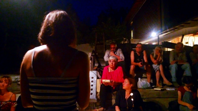 Sulle colline, sotto le stelle … o forse viceversa: #letturamobile a Ca' shin il 18 luglio