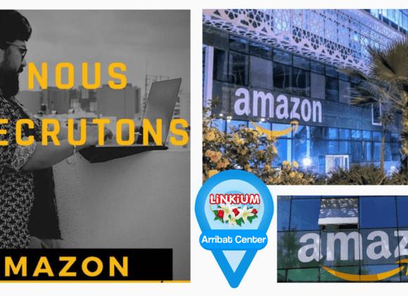 Amazon recrute au Maroc