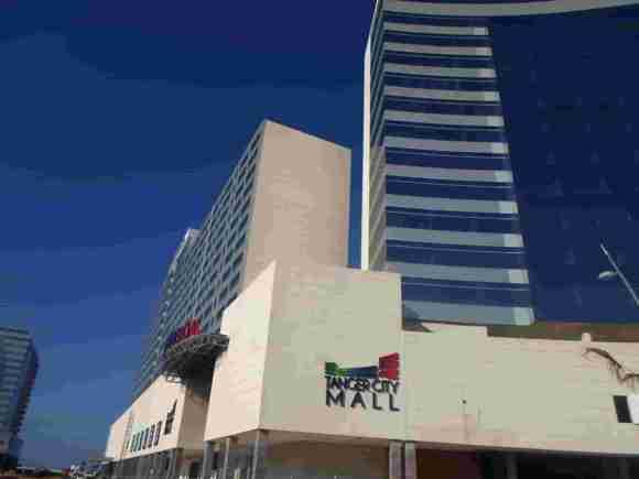 Façade extérieure du Tanger City Mall
