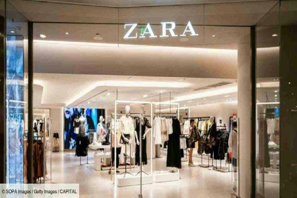 Entrée d'un magasin Zara au Maroc