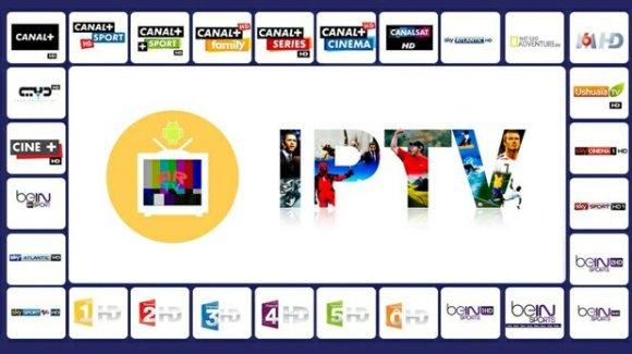 Apparence à l'ecran d'un réseau de IPTV au Maroc