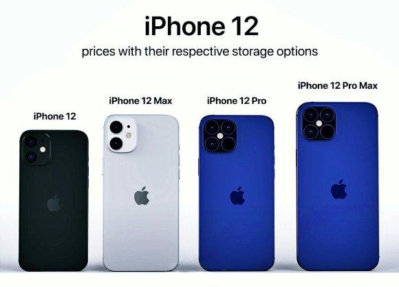 Les différents Iphone 12 : Classique, Max, Pro, Pro Max