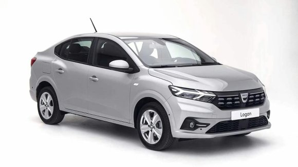 La Dacia Logan vue de face