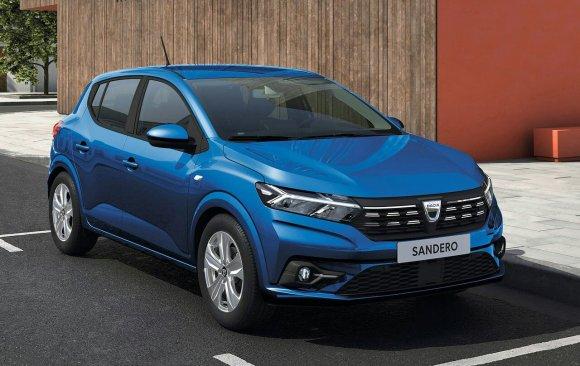 Dacia Sandero version 2021 vue de face