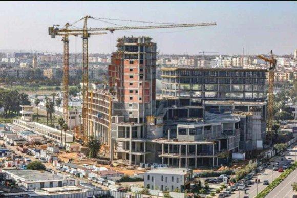 Aeria Mall actuellement en construction