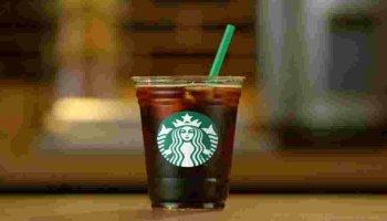 Verre de Starbucks en image