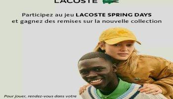 Offre Lacoste Maroc : Gagnez des cadeaux