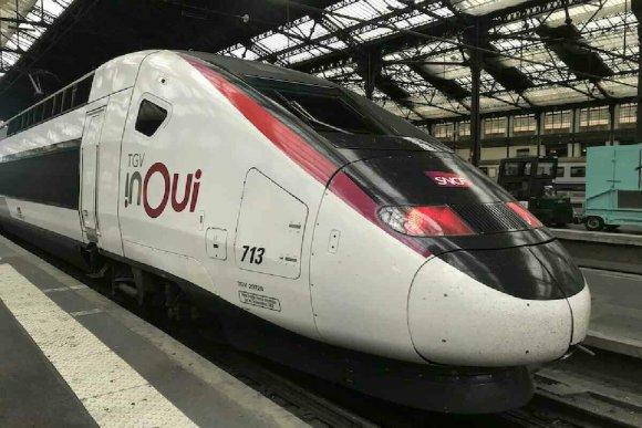 TGV en france