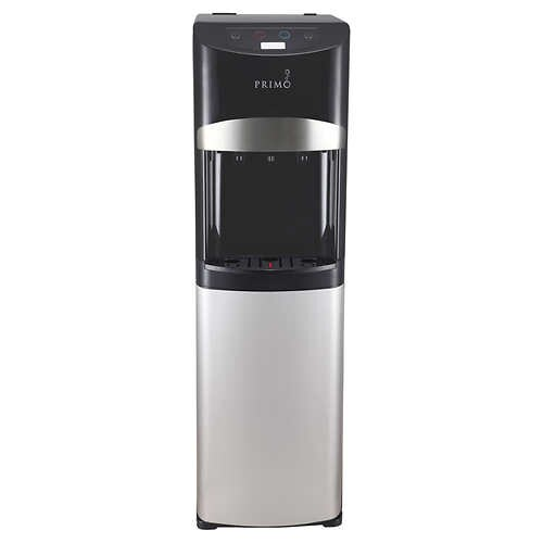 Primo Electronic Control Black & Stainless Steel Bottom Load Water Cooler