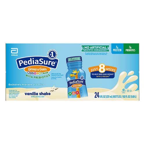 PediaSure OptiGRO Plus Kids Shake 8 fl oz., 24-count