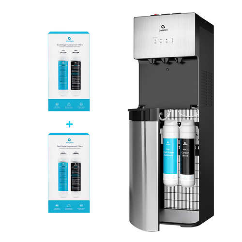 Avalon A5-C Bottleless Point-of-Use Water Cooler with Install Kit and Bonus Filters