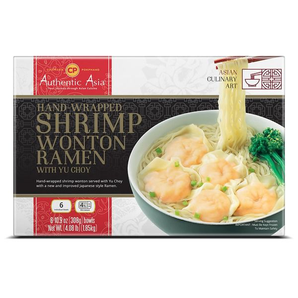 Authentic Asia Shrimp Wonton Ramen, 6..
