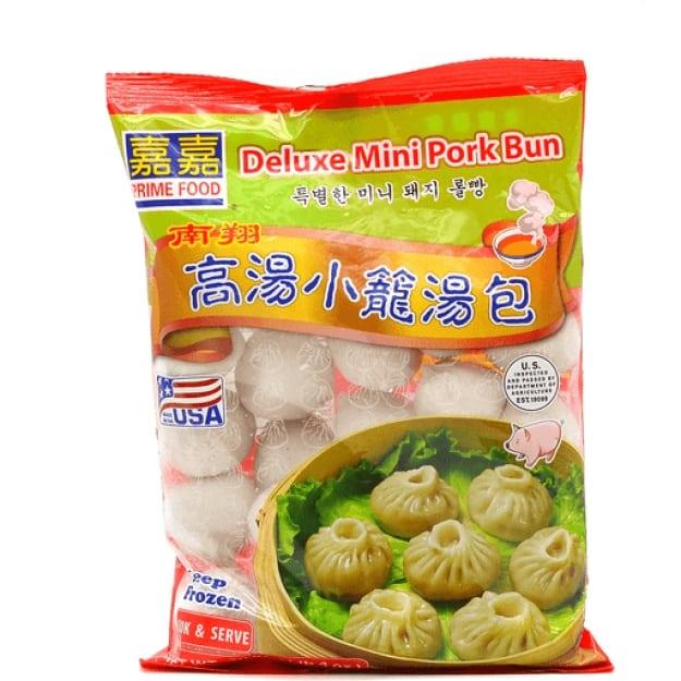 Deluxe Mini Pork Bun 嘉嘉高汤小笼汤包 20oz