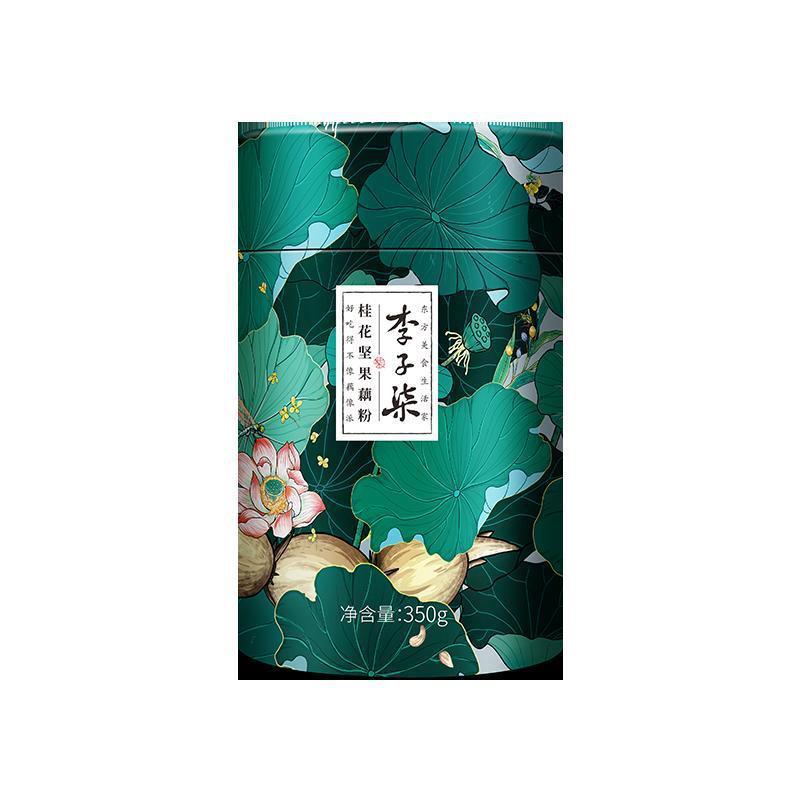 Lotus Root Starch 李子柒桂花坚果藕粉 350g/盒
