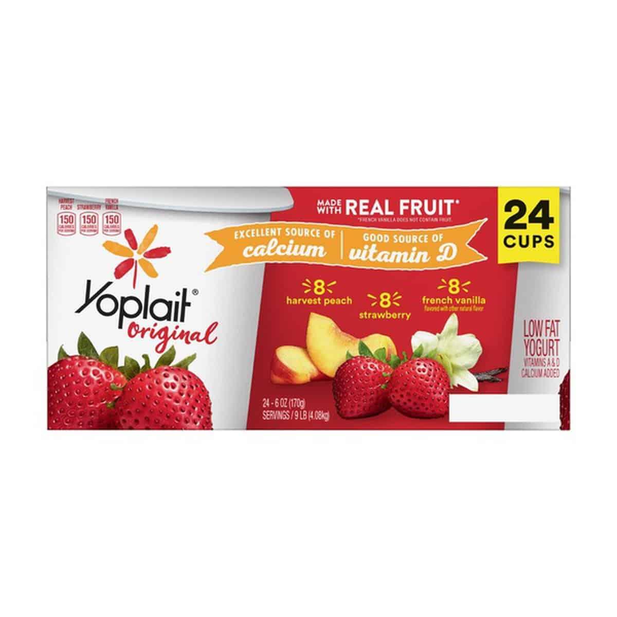 Yoplait Variety Pack Yogurt, 24 x..