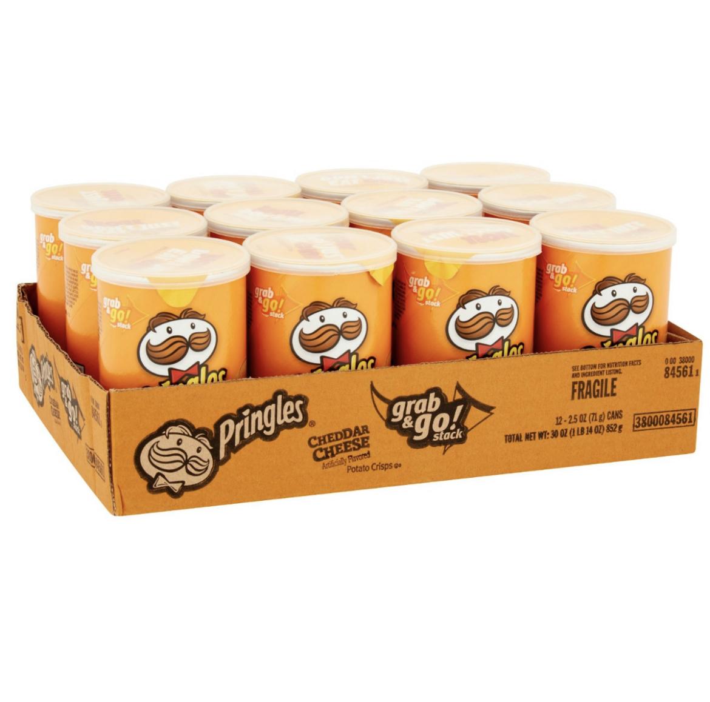 Pringles Cheddar Cheese Grab & Go..