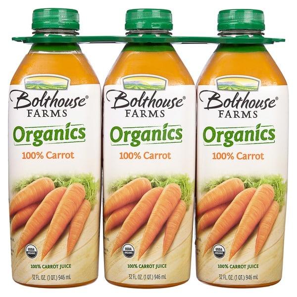 Bolthouse Farms Organic Carrot Juice 3..