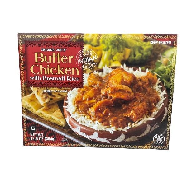 Trader Joe's Butter Chicken With Basmati..