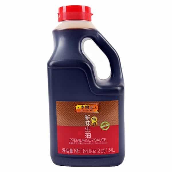 Lee Kum Kee Premium Soy Sauce..