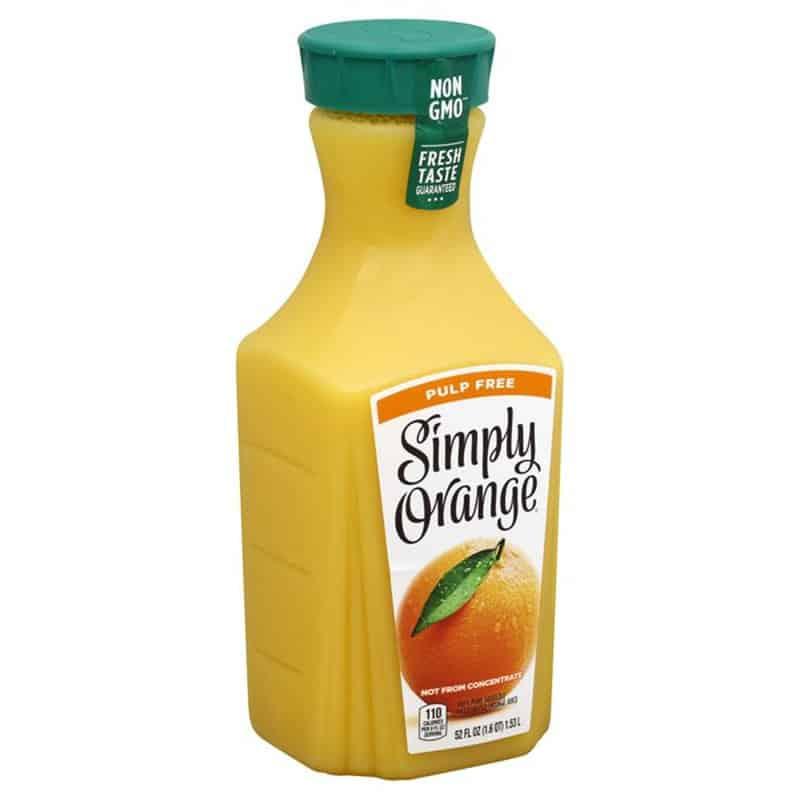 Simply Orange Juice Pulp-Free 橙汁 52..