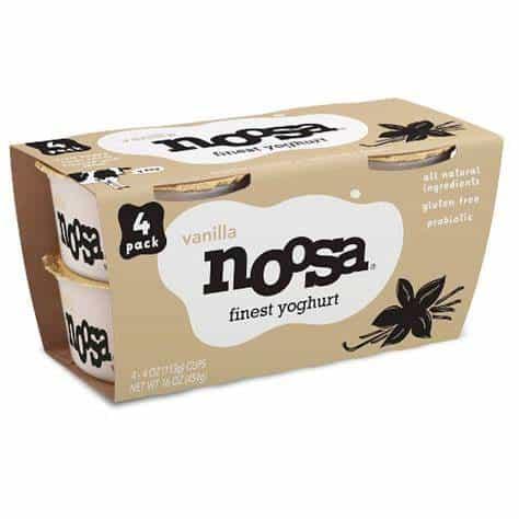 Noosa Yogurt Vanilla 4-pack 16 oz