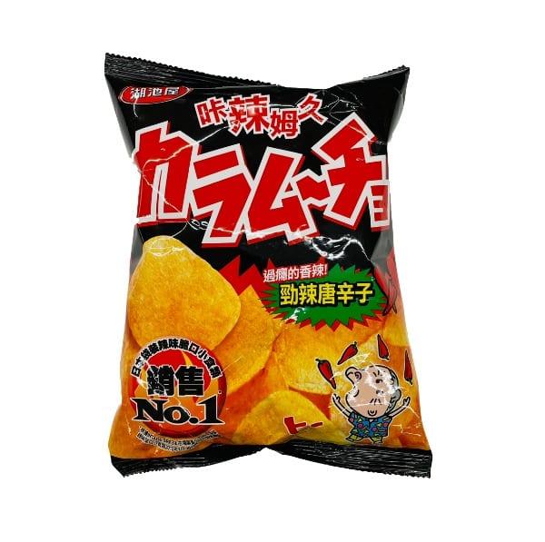 Huchiwu Koikeya Potato Chips Spicy 湖池屋薯片..