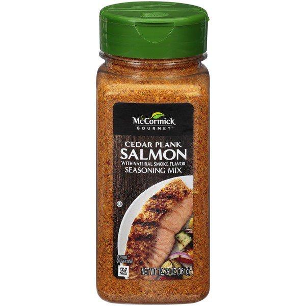 McCormick Gourmet Cedar Plank Salmon Seasoning,..