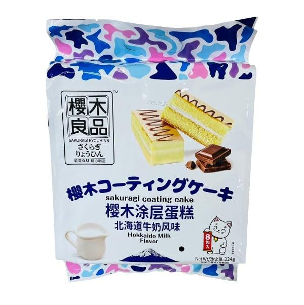 Sakuragi Coating Cake 樱木良品涂层蛋糕 224g