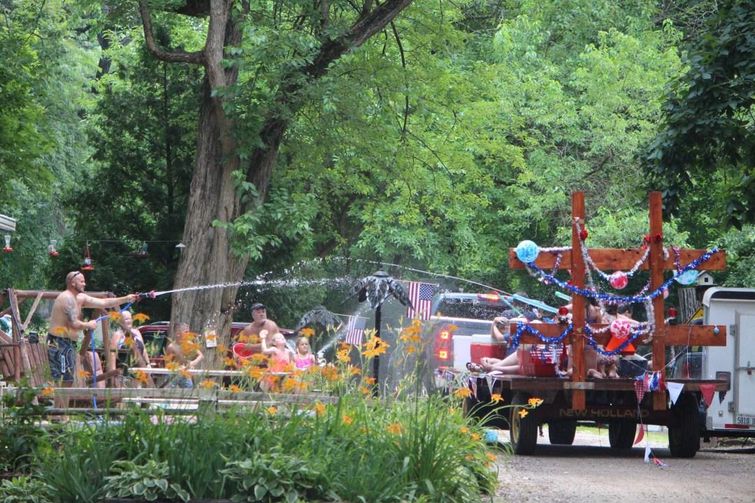 MallardBendResort_4th of july water fight 2