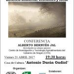 Conferencia sobre ganaderia de montanya en Samianigo