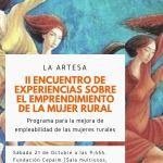 II Encuentro de Experiencias sobre el emprendimiento de la Mujer Rural