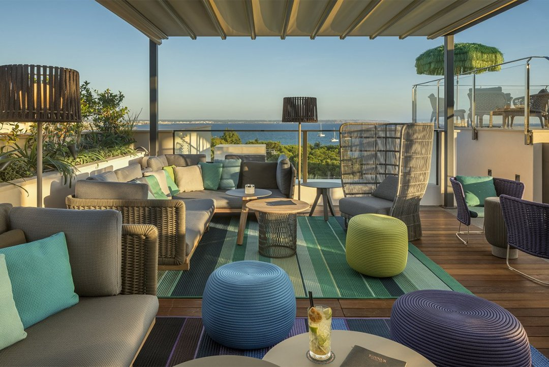 Boutique Hotels in the centre of Palma de Mallorca: Rooftop El Lorenc Boutique Hotel
