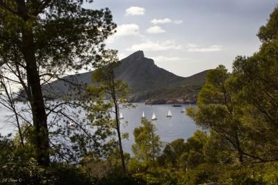 Sant Elm - Blick auf Dracheninsel