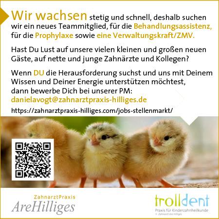 ZahnarztPraxis Are Hilliges Entwicklung der CI, Grafik & Layout für Printwerbung www.zahnarztpraxis-hilliges.com