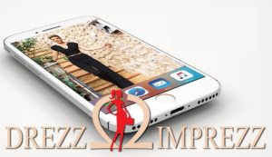 Drezz2Imprezz Entwicklung der CI, Grafik & Layout für App www.drezz2imprezz.eu