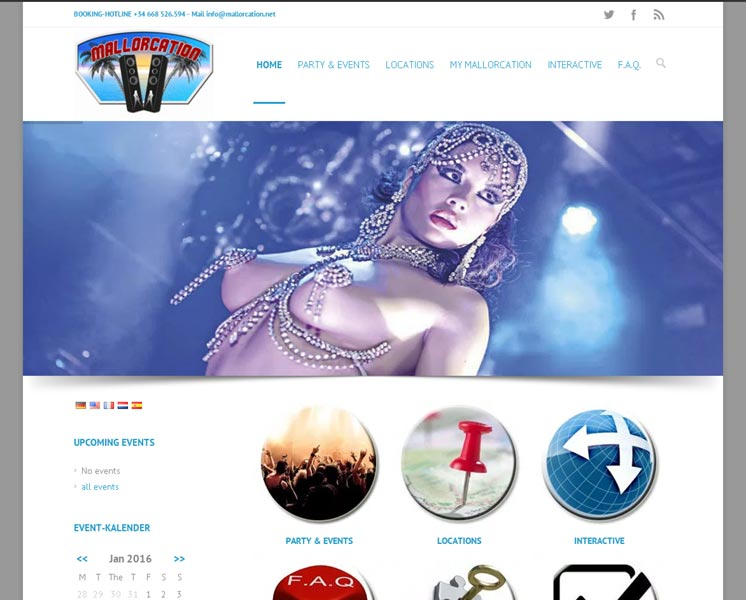 mallorcation.comLayout > Erstellung > Website & Buchungssystemwww.mallorcation.net
