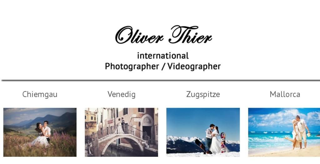Oliver Thier Photography Programmierung, Grafik, Layout: Website www.oliver-thier-photography.com