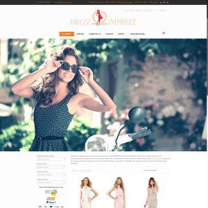 Drezz2Imprezz S.L. Entwicklung der CI, Grafik & Layout für Online www.drezz2imprezz.eu