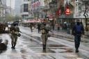 Las fuerzas militares han tomado las calles de Bruselas
