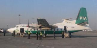 Avión de Pakistan International Airlines