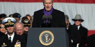 El expresidente de Estados Unidos, George Bush padre