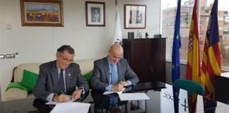 Javier Cortés AECC y Francisco Javier Marqueta IVI Mallorca