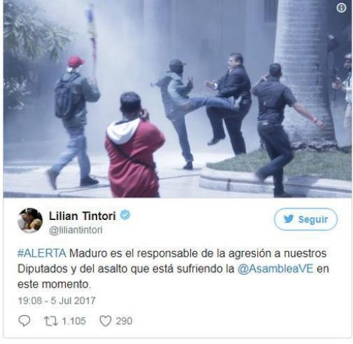 050717 parlamento venezuela ataque twit