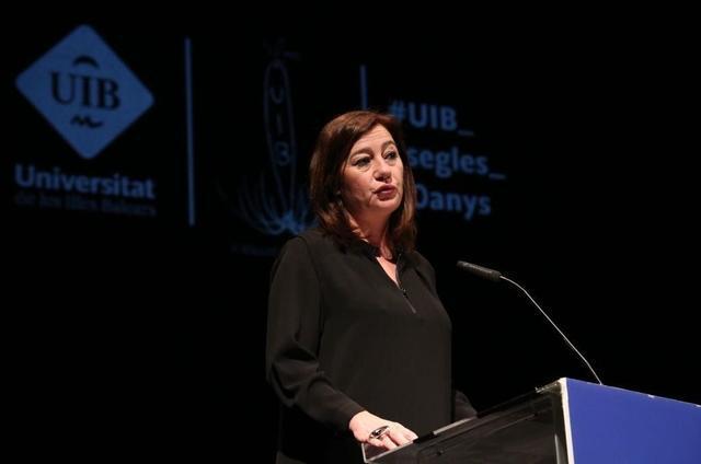 Francina Armengol Teatre Principal 40 aniversario Universidad UIB