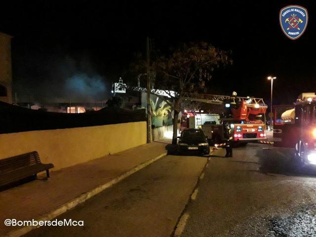 bomberos de mallorca actuando en capdepera 1