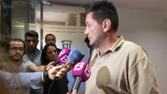 Noel Alfaro, hermano del piloto desaparecido del Ibanat